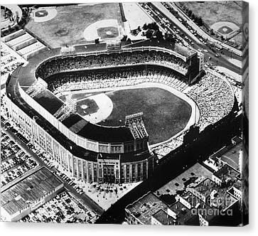 New York: Yankee Stadium Canvas Print by Granger