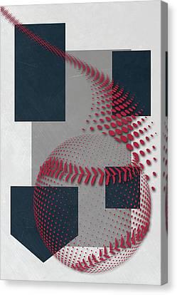 New York Yankees Art Canvas Print by Joe Hamilton