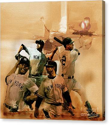 New York Yankees  Canvas Print by Gull G
