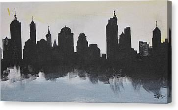 New Yorks Manhatten Canvas Print by Gary Smith