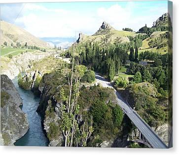 New Zealand Scene Canvas Print by Constance DRESCHER