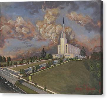 New Zealand Temple Canvas Print by Jeff Brimley