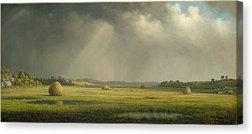 Newburyport Meadows Canvas Print