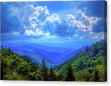 Newfound Gap Canvas Print