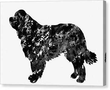 Newfoundlander Canvas Print - Newfoundlander by Erzebet S