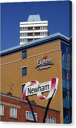 Newham Express Canvas Print by Jez C Self