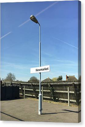 Newmarket Station Canvas Print by Tom Gowanlock