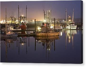 Newport Boats Canvas Print