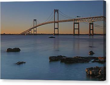Newport Bridge Canvas Print by Juergen Roth