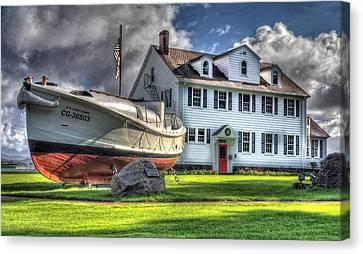 Newport Coast Guard Station Canvas Print