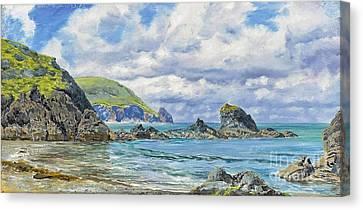 Newport Sandbanks Canvas Print