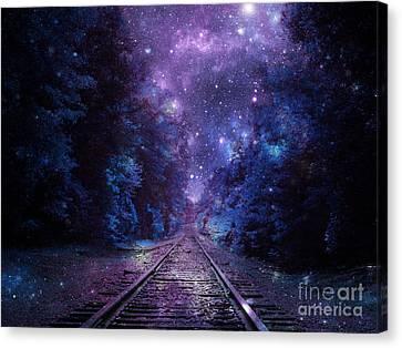 Next Stop Anywhere #2 Canvas Print by Johari Smith