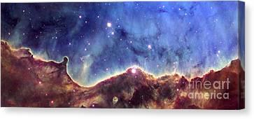 Ngc 3324  Carina Nebula Canvas Print by Nicholas Burningham