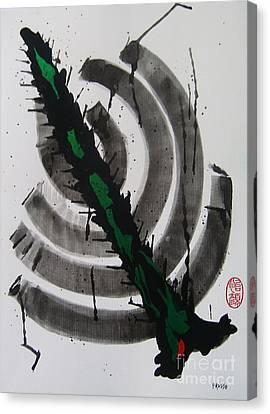 Ni Taitoru Mitei Canvas Print by Roberto Prusso