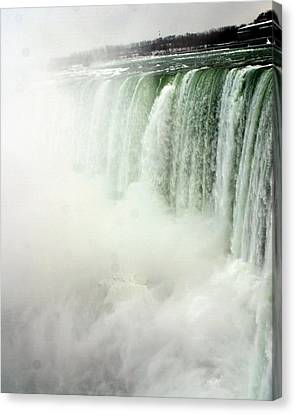 Niagara Falls 4 Canvas Print by Anthony Jones