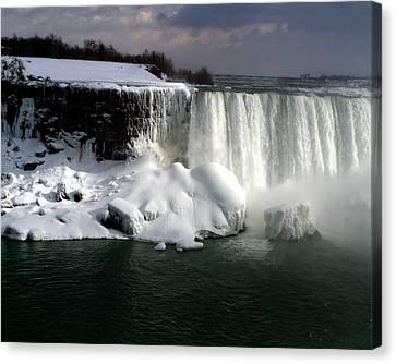 Niagara Falls 6 Canvas Print by Anthony Jones
