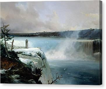 Niagara Falls Canvas Print by Jean Charles Joseph Remond