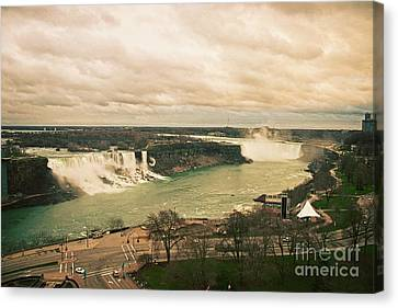 Canvas Print featuring the photograph Niagara Falls by Mary Machare