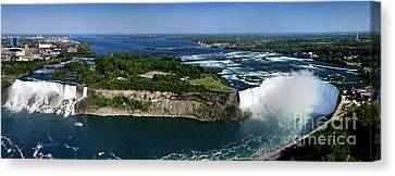 Niagara Falls Canvas Print by Oleksiy Maksymenko