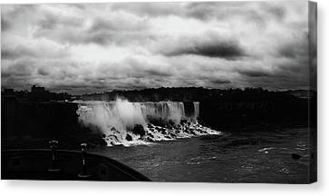 Niagara Falls - Small Falls Canvas Print