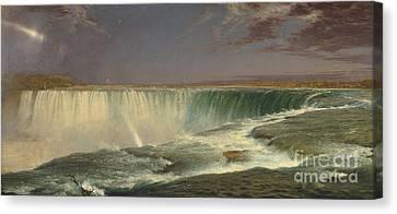 Natural Scenes Canvas Print - Niagara by Frederic Edwin Church