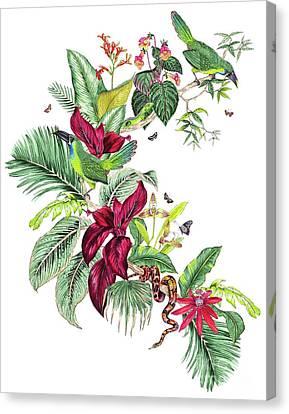 Nicaragua Placement Canvas Print