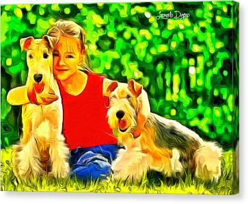Nice Kids - Da Canvas Print