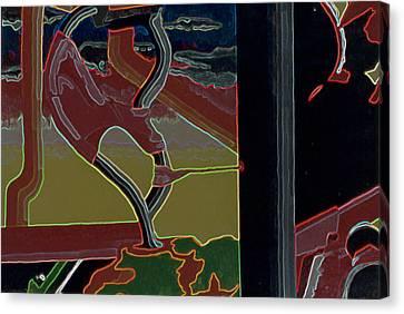 Nice Twice Canvas Print by B and C Art Shop