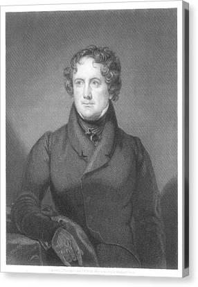 Nicholas Biddle (1786-1844) Canvas Print by Granger