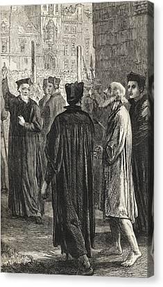 Nicholas Ridley, C. 1500 To 1555, On Canvas Print