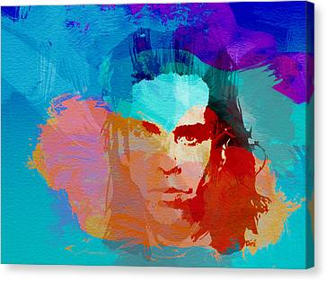 Nick Cave Canvas Print by Naxart Studio