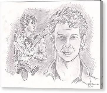 Nick Jonas Canvas Print