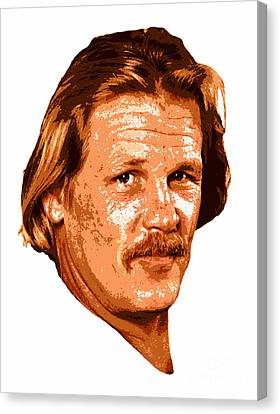 Nick Nolte Canvas Print by Pd