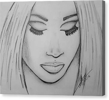 Nicking Minaj Canvas Print