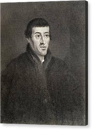 Nicolaus Copernicus 1473-1543. Polish Canvas Print