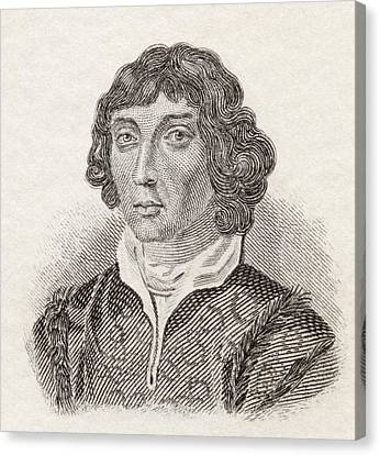 Nicolaus Copernicus, 1473 To 1543 Canvas Print