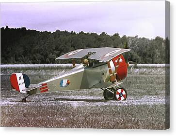 Nieuport 17 Canvas Print by Guy Whiteley