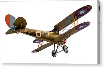 Nieuport 28c-1  Canvas Print by Gary Warnimont