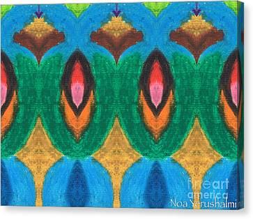 Night Angels Canvas Print by Noa Yerushalmi