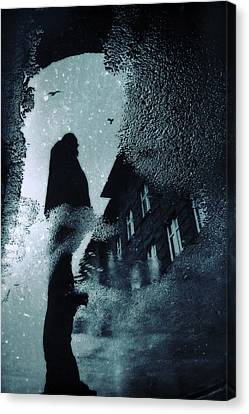 Night At The City Canvas Print by Art of Invi