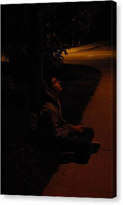 Night Boy Canvas Print