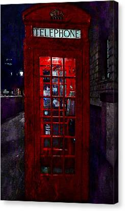 Night Call Canvas Print by Dorothy Berry-Lound