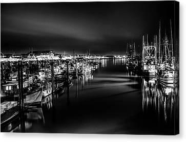 Night Calm Canvas Print by Chris Frykberg
