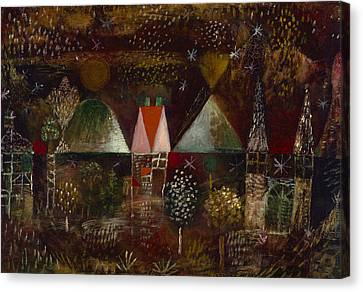 Night Feast  Canvas Print by Paul Klee