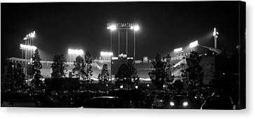 Night Game Canvas Print by Ricky Barnard