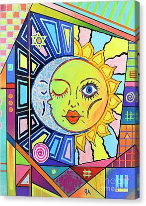 Night Kisses Daylight Canvas Print