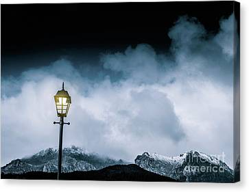 Night Landscape In Queenstown Tasmania Canvas Print by Jorgo Photography - Wall Art Gallery