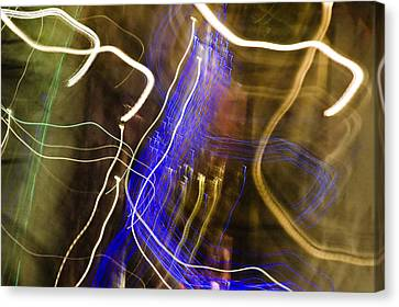 Night Lights 2 Canvas Print by Layne Hardcastle