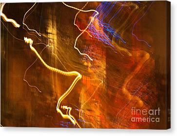 Night Lights 3 Canvas Print by Layne Hardcastle