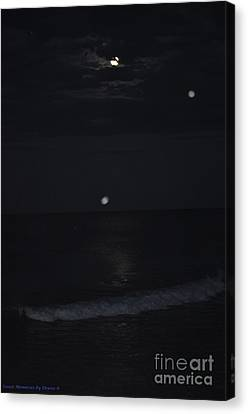 Night Moves 8 Canvas Print